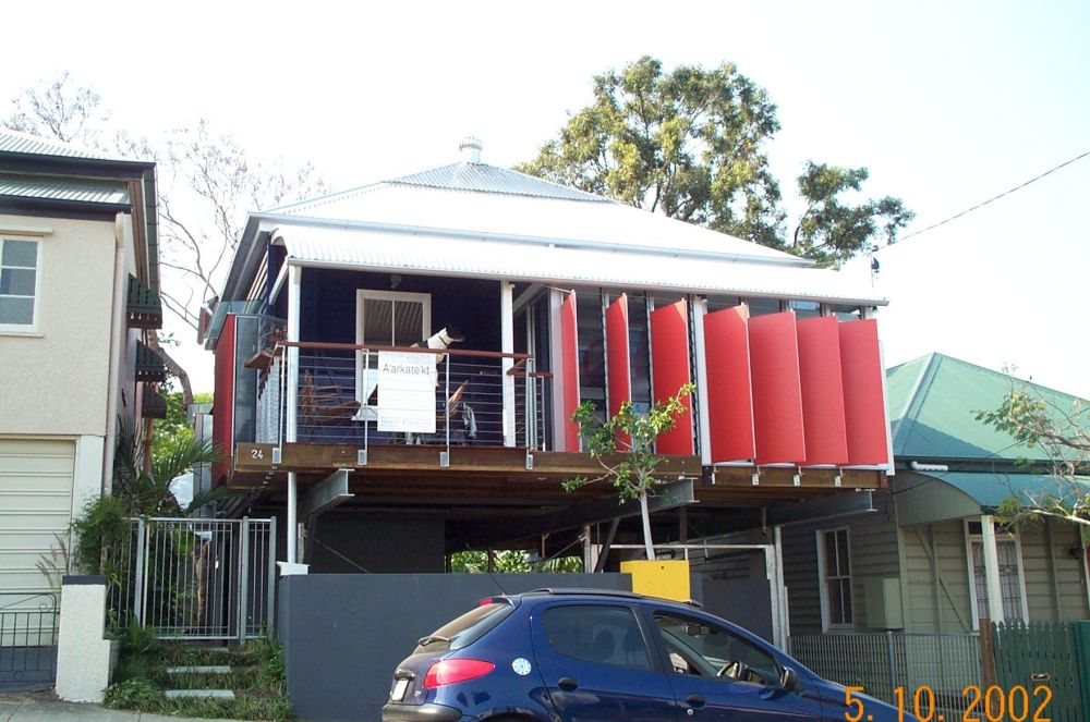 24 Belgrave street - 2002 completed front view